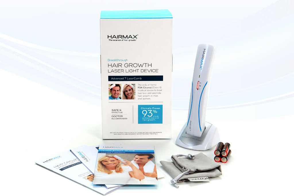 HairMax LaserComb® Advanced 7